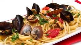 Primo piatto di mare dell'Hotel Caraibi Senigallia