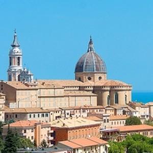 Veduta aerea di Loreto
